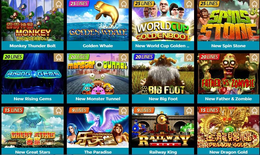 Permainan Slot Games Yang Mudah Menang