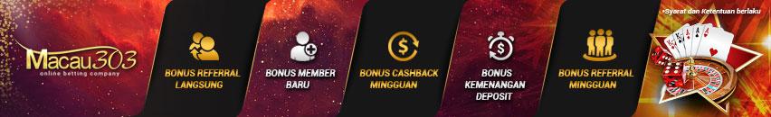 bonus freechip 100% gratis - daftar main judi baccarat online - macau303